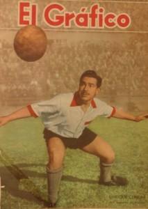 Enrique Cerioni, figura quemera en aquel 1950.