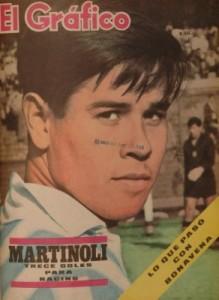 Martinoli tapa de El Gráfico luego del triunfgo ante Argentinos Juniors.