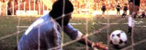 Las piernas son de Máximo Nardoni. Las manos, de Gustavo Moriconi. Héroe tripero, tapándole todos los penales a Estudiantes en el clásico.