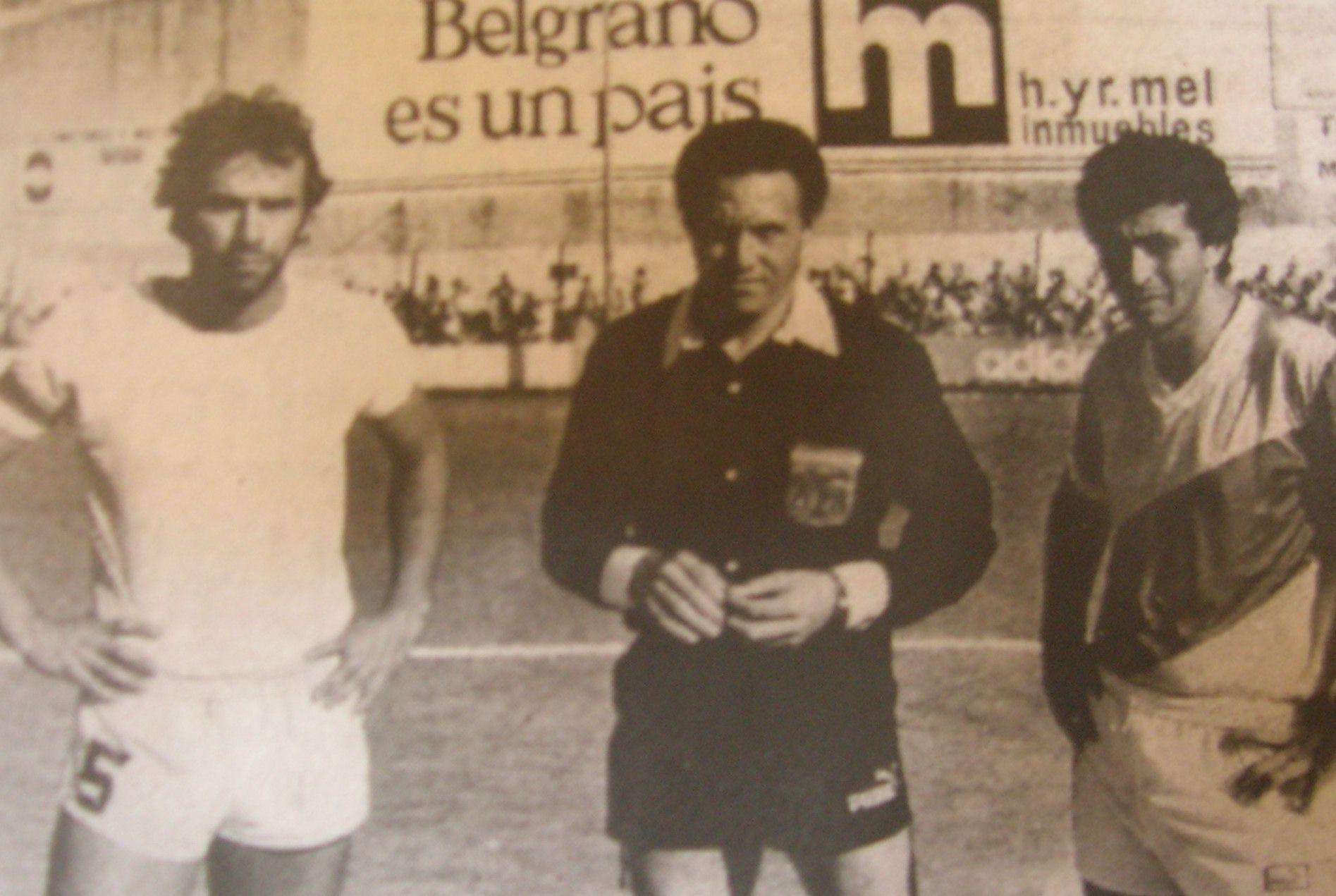 Final de ascenso. Almagro y Deportivo Armenio. Según el propio Mazariche, el mejor partido de su vida.