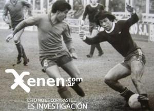 Cholo cervecero. En el sur jugó 47 partidos entre 1980 y 1982. Marcó 7 goles. Nunca se sintió a gusto.