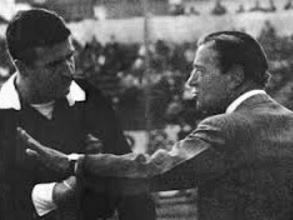 Renato Cesarini, el entrenador de River Plate en 1941.