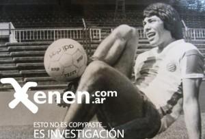 Cholo Periquito. En el Español de Barcelona jugó 21 partidos y marcó 2 goles, entre 1978 y 1979.