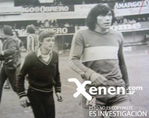 Año 1980. Último año del Cholo en Boca. Una mala campaña del equipo.