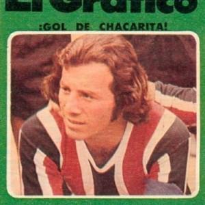 El Tano Frassoldati. Nacido en Italia, figura en Chacarita Juniors.