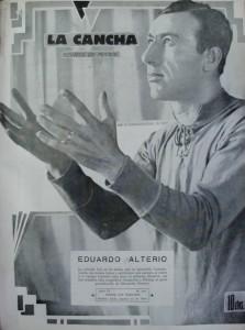 Eduardo Alterio. Arquero que hizo historia en Chacarita Juniors. Amigo del alma de Cesarini.