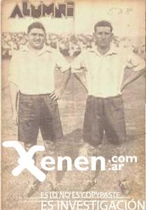 Demetrio Conidares y Vicente Zito. Su venta de Quilmes a Racing provocó que los hinchas cerveceros no concurrieran a las canchas durante 1933. Ese hecho fue duramente castigado con un descenso de facto.