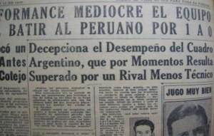 LDT 1937 vs Peru