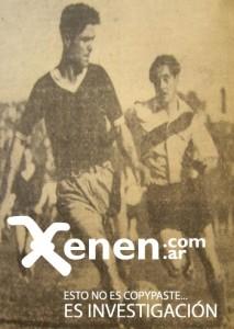 21 de septiembre de 1941. NACIO LA MAQUINA. En la foto, su hacedor: ADOLFO PEDERNERA. Una joya del archivo.
