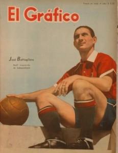 Pepe Battagliero pasó de Atlanta a Independiente a cambio de perder el partido. Con los Rojos, jugó 156 partidos, entre 1941 y 1948.
