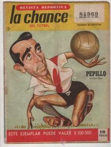 Pepillo llegó a River en 1961. Suplente de Di Stéfano en el Real Madrid, su rendimiento fue muy pobre.