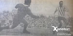 Maschio gambetea al arquero Oleinicki. El centro será capitalizado por Mori, convirtiendo el único gol en 1 y 57.