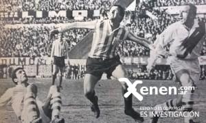 Miguel Angel Mori en la lucha contra Nicha Sainz y el uruguayo Matosas.