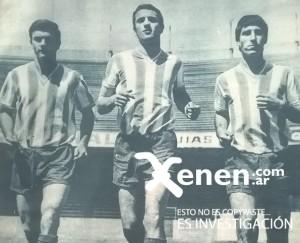 Perfumo, Basile y Díaz. Juventud, talento y dinámica. Una de las claves de Pizzuti.
