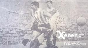 Ante River, Chango Cárdenas convirtió su primer gol en el campeonato.