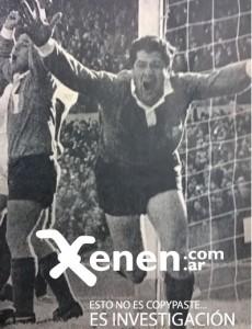 La boca llena de gol del Yaya Rodríguez. Festejo ante Quilmes.
