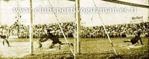 Gol juliano en el Reclasificatorio de Primera. Sportivo Guzmán jugó en la máxima divisional.