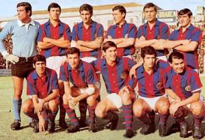 Los Matadores. El equipo de San Lorenzo campeón del Metro 1968.