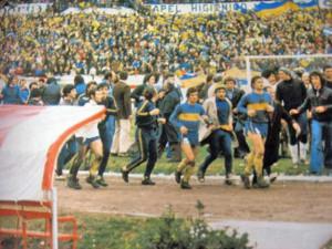 En el Nacional 1970, Boca venció 2 a 1 a Rosario Central en la final jugada en el estadio Monumental.