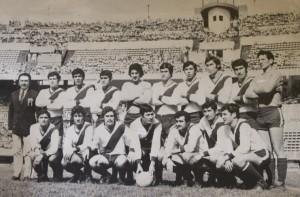 31 de octubre de 1971. Juventud Antoniana de Salta en el estadio Monumental. Esa tarde, Artemio Lúñiz convirtió un gol de chilena aplaudido por todo el estadio.