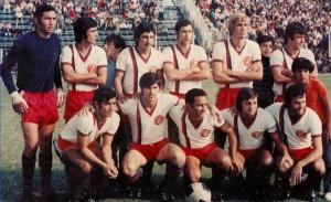 San Lorenzo 1972. Uno de los grandes equipos de nuestro fútbol. Derrotó a River en la final del Nacional.