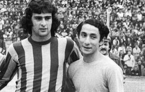 Mario Kempes y Osvaldo Ardiles. Enorme talento surgido en Instituto de Córdoba.
