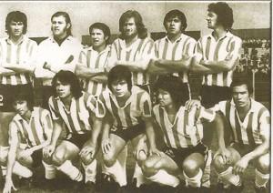 Gimnasia de Jujuy 1975. Finalista en el torneo octogonal. Quedó cuarto, muy cerca del título.