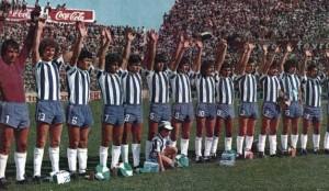 Un Talleres de Córdoba de leyenda. Finalista del Nacional 1977. Equipazo. Movió la estantería con fútbol de alto vuelo y llenos totales.
