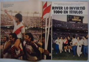 En el monumental, River no pudo superar a Unión, pero igualmente se consagró campeón.