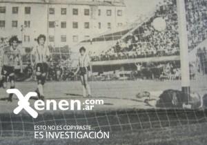 El gol de Julio Apariente. Ferro dio vuelta un partido inolvidable. Perdía 4 a 1, ganó 5 a 4.
