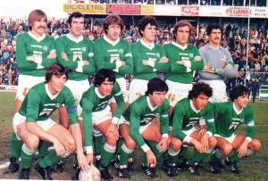 Ferro Carril Oeste se consagró campeón del Nacional 1982. Superó a Quilmes en las finales.