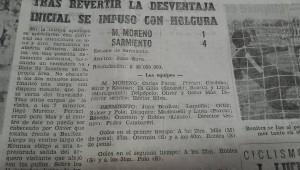 LDT 1982 Moreno Sarmiento gol de pinino