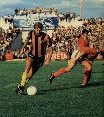 Oscar Schmidt fue un referente de Olimpo de Bahía Blanca en los ochenta. Figura del equipo en el Nacional 1984.