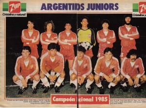 Argentinos Juniors se consagró campeón del Nacional 1985 superando a Vélez Sársfield en la única final donde un equipo tuvo ventaja deportiva sobre otro.