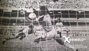 Gol de palomita a Quilmes. Semifinal del Octogonal de ascenso.