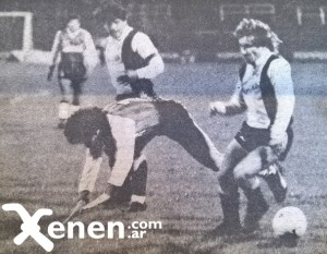 4 de octubre de 1986. Bombón Villarreal cae ante la marca de Patán Parrado. Armenio igualó sobre el final ante Chaco For Ever.