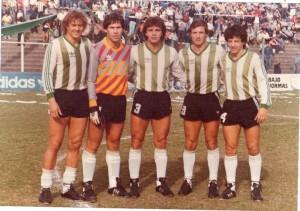 Banfield, Apertura 1986: Orte, Pogany, Ramirez, Trama y Rafaelli.