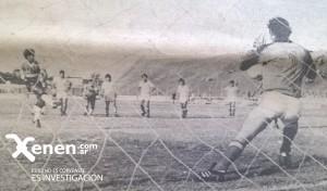 El remate de Villarreal será la apertura del marcador en el Gallardón. Los Andes 0 - 4 Deportivo Armenio.