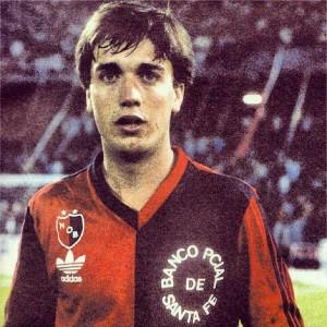 Batistuta, con 19 años, en el año 1988.