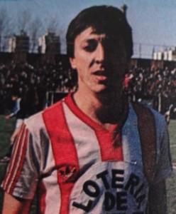 Víctor Rabuñal jugó en Unión entre 1988 y 1991. Disputó 94 partidos, convirtiendo 6 goles.