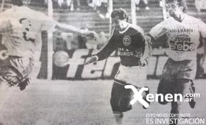 El talentoso Gilmar Villagrán se le va a Márquez y enfrenta a Dindart. Estación Quequén estuvo a un tris de la hazaña contra el líder en su estadio.