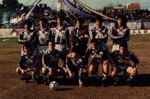 Rabuñal jugó la temporada 93/94 en Campana. Debutó el 24 de julio de 1993, en la victoria 2 a 0 ante Argentino de Quilmes. Villa Dálmine formó con: Tallarico; Céliz, Montagliani, Barrios y Elleberg; Cerchietti, Echeverría, Infantino y Rabuñal; Rossi y Carrió. Dt: Miguel Presenza.
