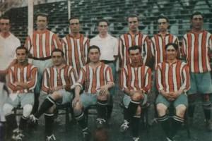 River Plate campeón 1920. En Héroes de Tiento se da cuenta del profesionalismo de sus jugadores.