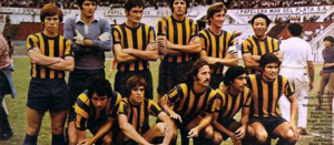 El equipo canalla que venció a Newell´s en la semis. Luego haría lo propio con San Lorenzo en la final del Nacional 1971.