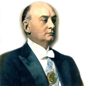 Marcelo Torcuato de Alvear. Presidente de la República entre 1922 y 1928.