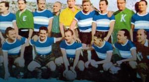 Racing Club 1951. El mítico gol de Mario Boyé para derrotar a Banfield en la final más política de nuestro fútbol.