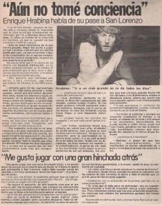 ldt 1983 hRABina a San Lorenzo