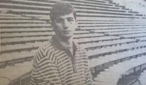 ¿Lo reconoce? juan Antonio Pizzi en 1988. La tarde contra Armenio fue increíble.