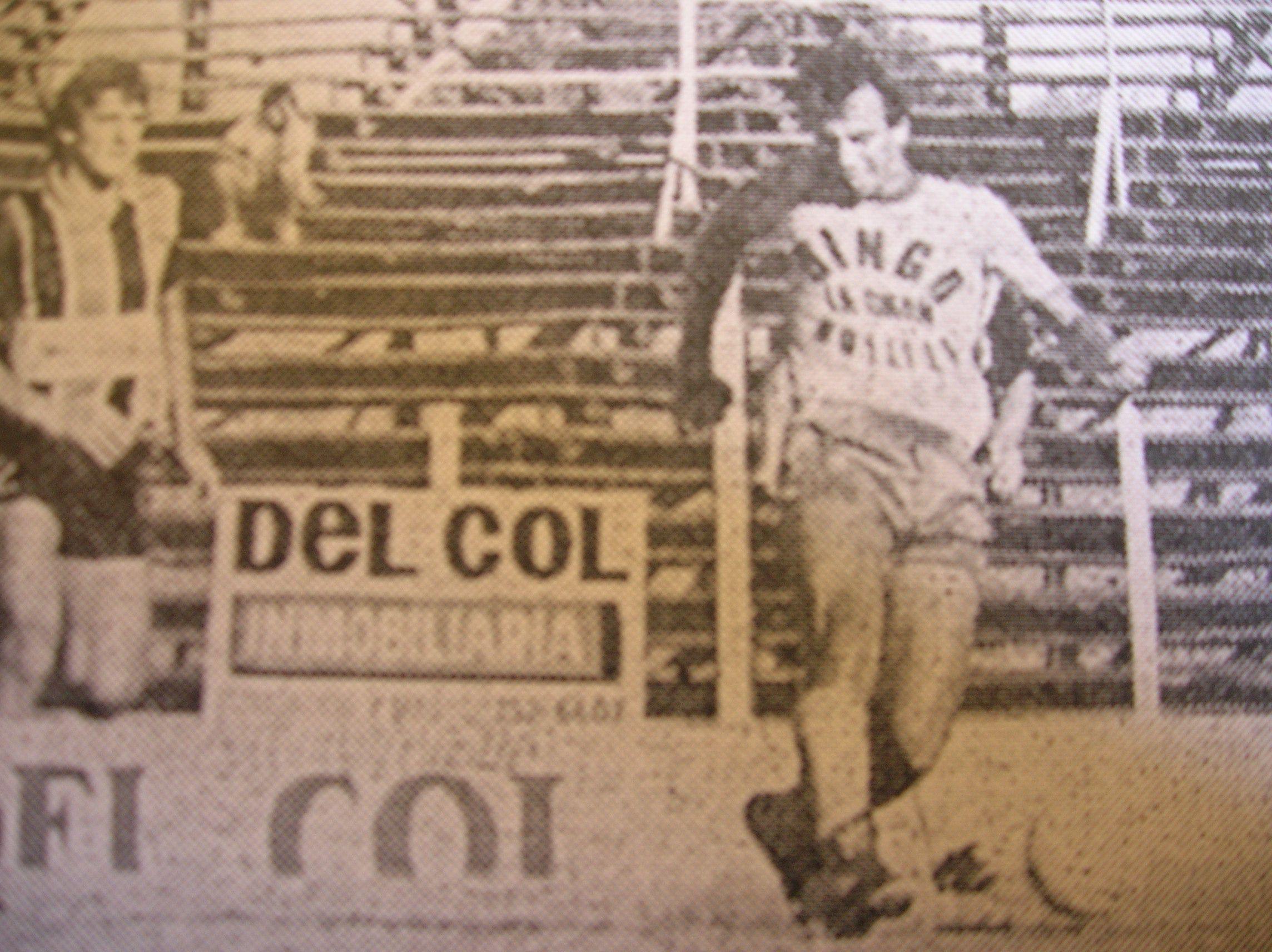 Temporada 1987/88. Gol a Chacarita Juniors con la camiseta de Defensa y Justicia. Lo quería Racing. Por esas cosas del fútbol, terminó en Varela.