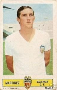 Jesús Martínez. Nació en Galicia, vino de pibe a nuestro país. Debutó en el Racing de José, y luego regresó para hacer carrera en España.